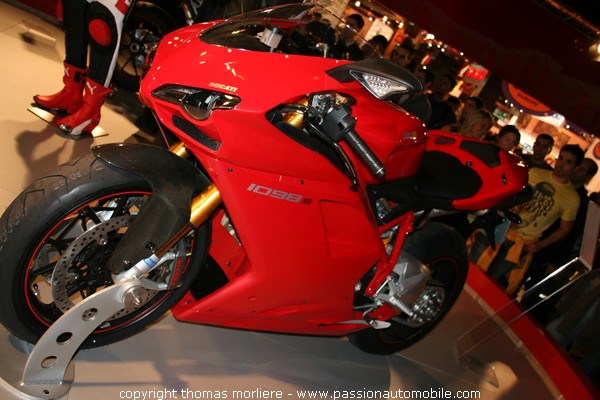 ducati 1098 s 2007 mondial de la moto de paris 2007 salon de la moto. Black Bedroom Furniture Sets. Home Design Ideas