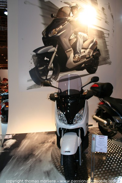 yamaha x max 125 yamaha x max 250 2007 mondial de la moto de paris 2007 salon de la moto. Black Bedroom Furniture Sets. Home Design Ideas