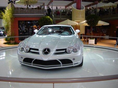 Mercedes mac laren salon automobile de lyon 2003 for Salon automobile de lyon