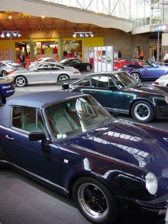 Porsche 40 ans salon automobile de lyon 2003 for Salon automobile de lyon