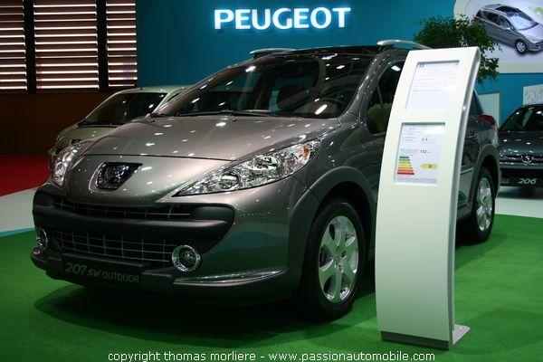 Peugeot 207 sw outdoor salon auto de lyon 2007 for Salon automobile de lyon