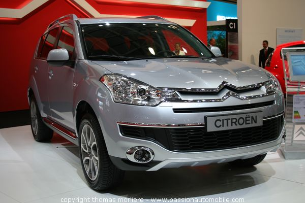 Citroen c crosser salon auto de lyon 2007 for Salon automobile de lyon