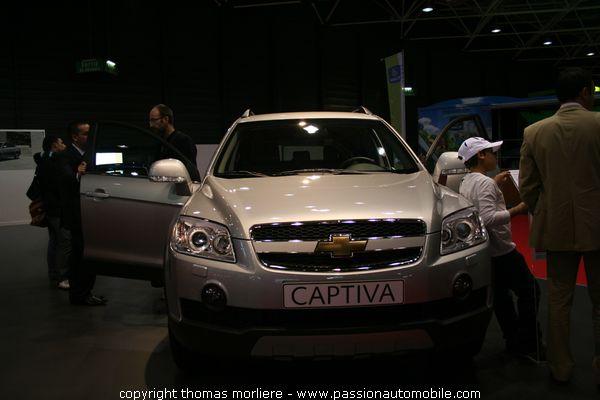 Chevrolet captiva les 4x4 au salon auto de lyon 2007 for Salon automobile de lyon