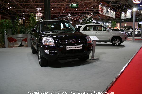 Kia sportage les 4x4 au salon auto de lyon 2007 for Salon automobile de lyon