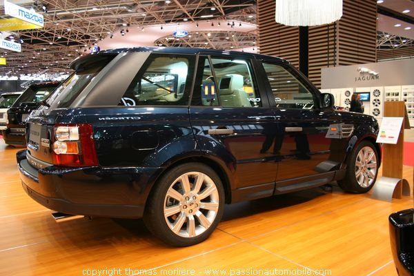 range rover sport v8 supercharged les 4x4 au salon auto de lyon 2007. Black Bedroom Furniture Sets. Home Design Ideas