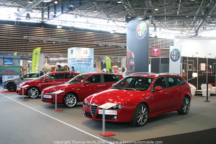 alfa romeo au salon auto de lyon 2009. Black Bedroom Furniture Sets. Home Design Ideas