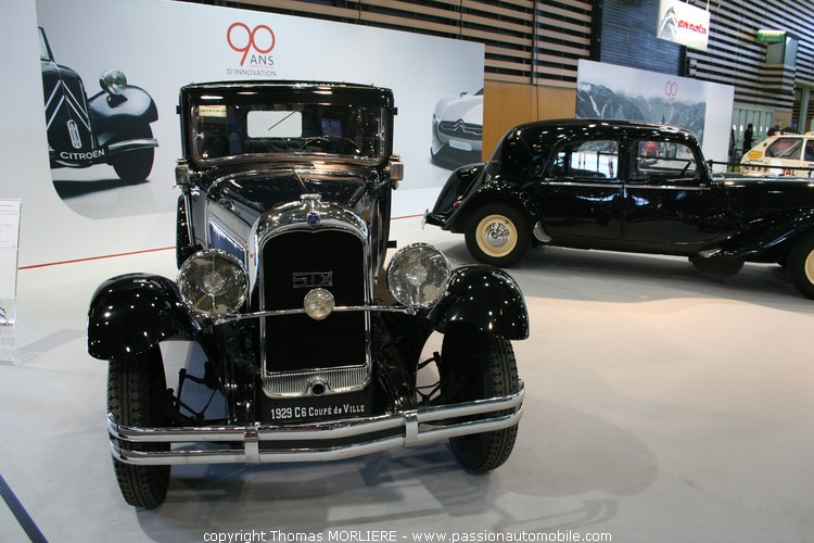 citroen c6 e coup de ville 1929 salon de l 39 automobile lyon 2009. Black Bedroom Furniture Sets. Home Design Ideas