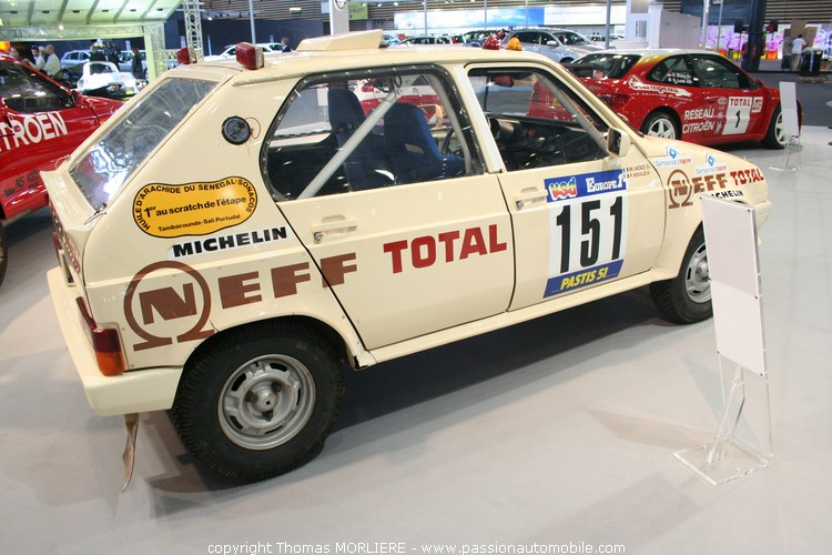 Citroen visa neff total 6 me rallye paris alger dakar for Salon de l auto a lyon