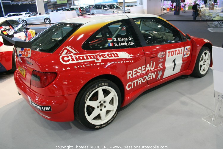 Xsara rallye kit car 2001 salon de lyon 2009 for Salon de lyon 2015