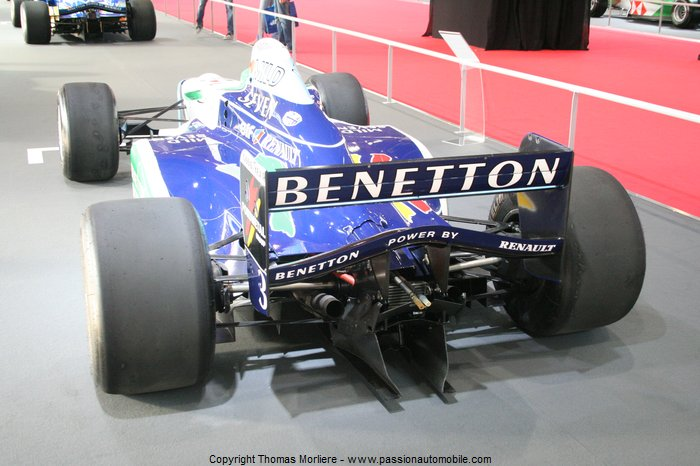 formule 1 benetton b196 1996 au salon auto de lyon 2011. Black Bedroom Furniture Sets. Home Design Ideas