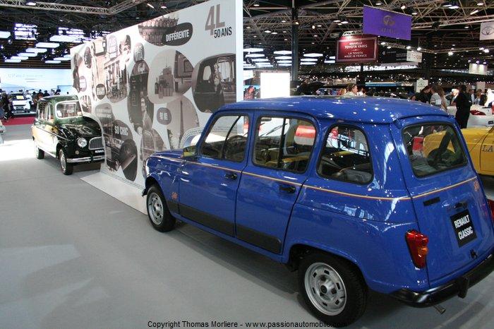 Renault 4 l 50 ans 2011 salon auto de lyon 2011 for Salon de l auto a lyon