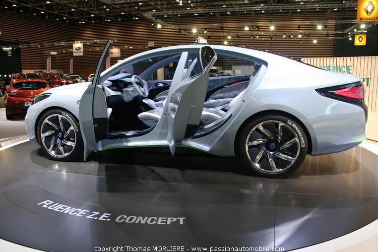 2008 Renault Fluence Ze Concept Car Pictures