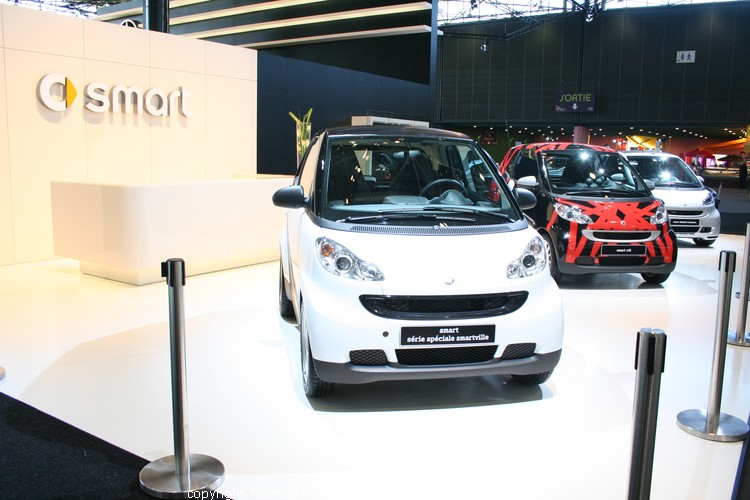 Smart au salon auto de lyon 2009 - Salon automobile lyon ...