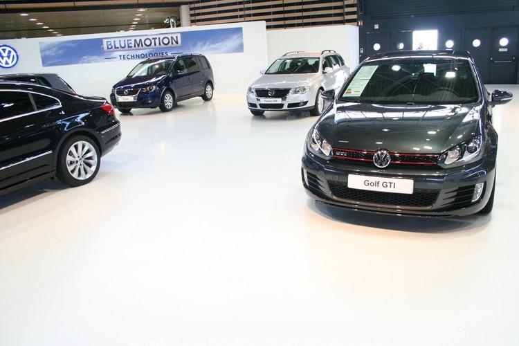 Stand volkswagen salon automobile de lyon 2009 for Salon automobile de lyon