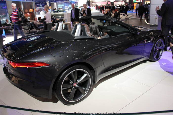 Jaguar f type s cabriolet 2014 au salon de geneve 2014 for Salon de geneve 2014