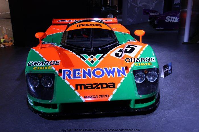 Mazda 787 b 24h du mans 1991 au salon de geneve 2014 - Salon de the le mans ...