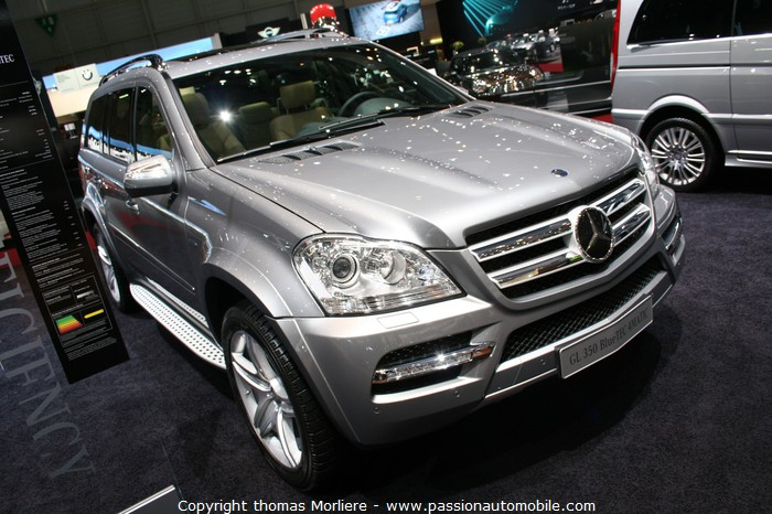 mercedes gl 350 bluetec 4matic 2010 au salon de genve 2010. Black Bedroom Furniture Sets. Home Design Ideas