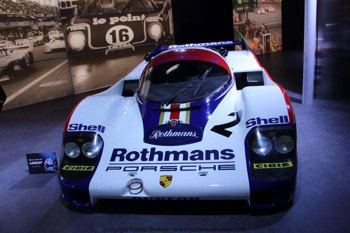 Porsche 956 24h du mans 1982 1985 au salon de geneve 2014 - Salon de the le mans ...