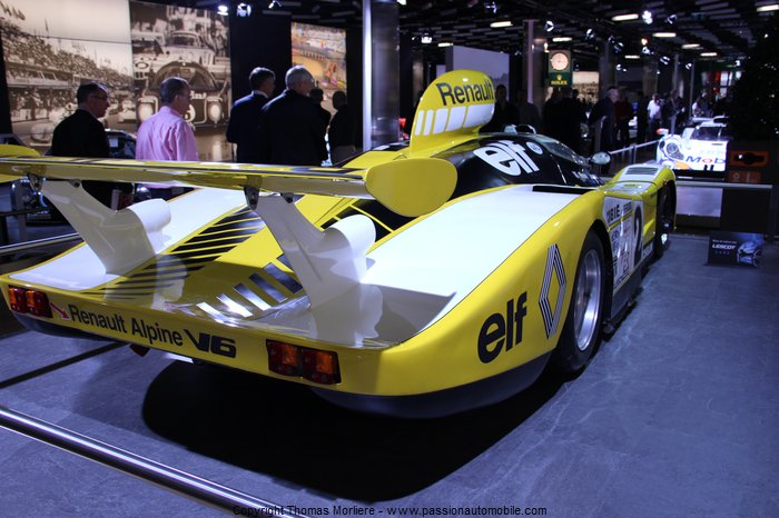 Renault alpine v6 le mans 1978 au salon de geneve 2014 - Salon de the le mans ...