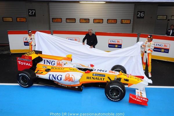 Renault formule 1 r29 2009 au salon de geneve 2009 for Formule 1 salon de provence
